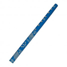 Fluier albastru din lemn
